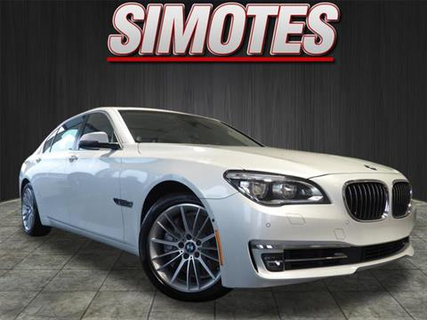 2014 BMW 7 Series for sale at SIMOTES MOTORS in Minooka IL