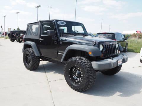 2010 Jeep Wrangler for sale at SIMOTES MOTORS in Minooka IL