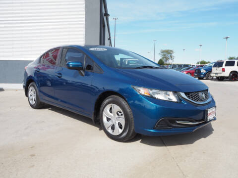 2014 Honda Civic for sale at SIMOTES MOTORS in Minooka IL