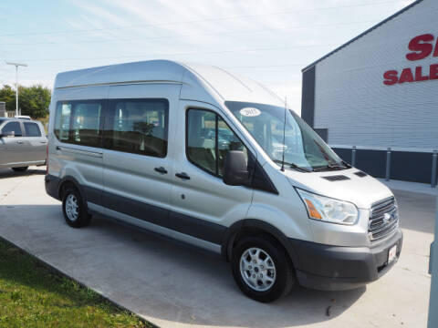 2015 Ford Transit Passenger for sale at SIMOTES MOTORS in Minooka IL