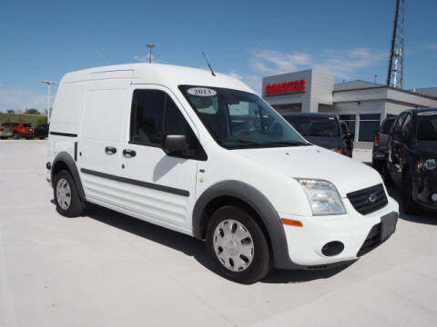 2013 Ford Transit Connect for sale at SIMOTES MOTORS in Minooka IL