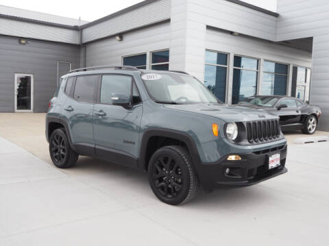 2017 Jeep Renegade for sale at SIMOTES MOTORS in Minooka IL