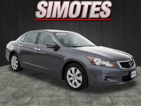 2010 Honda Accord for sale at SIMOTES MOTORS in Minooka IL