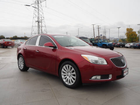 2012 Buick Regal for sale at SIMOTES MOTORS in Minooka IL