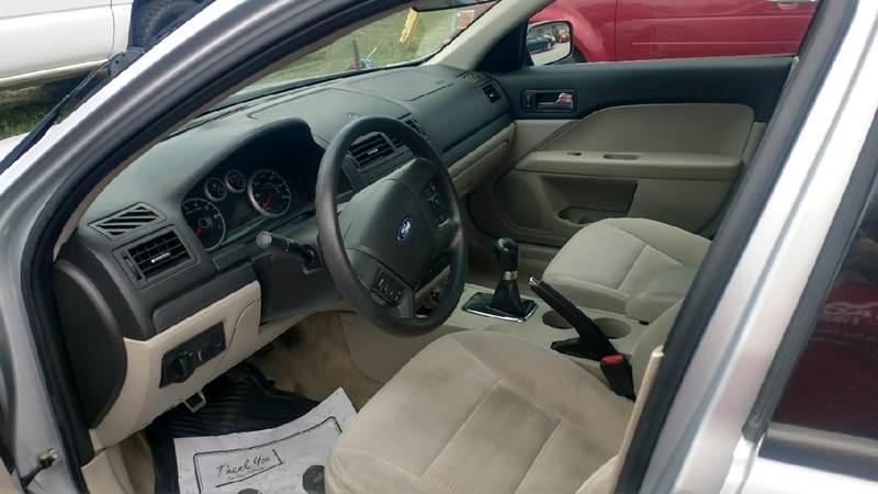 2006 Ford Fusion I4 S 4dr Sedan - Ashland KY