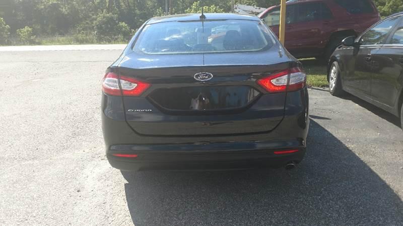 2014 Ford Fusion S 4dr Sedan - Ashland KY