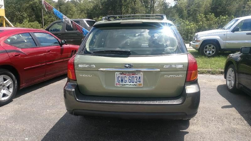 2006 Subaru Outback AWD 2.5i Limited 4dr Wagon (2.5L H4 4A) - Ashland KY