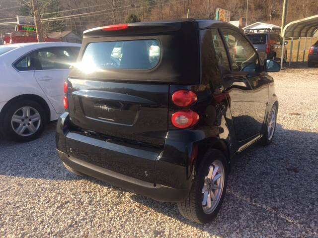 2009 Smart fortwo passion cabriolet 2dr Cabriolet - Morehead KY