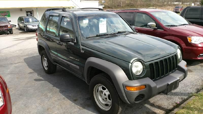 2002 Jeep Liberty 4dr Sport 4WD SUV - Ashland KY
