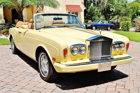 rolls royce corniche for sale in florida. Black Bedroom Furniture Sets. Home Design Ideas