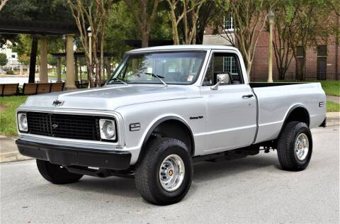 1972 Chevrolet C/K 10 Series for sale at Primo Classics International LLC in Lakeland FL