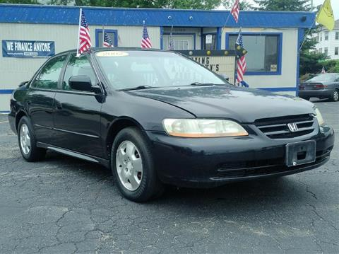 2002 honda accord for sale in massachusetts for Honda worcester ma
