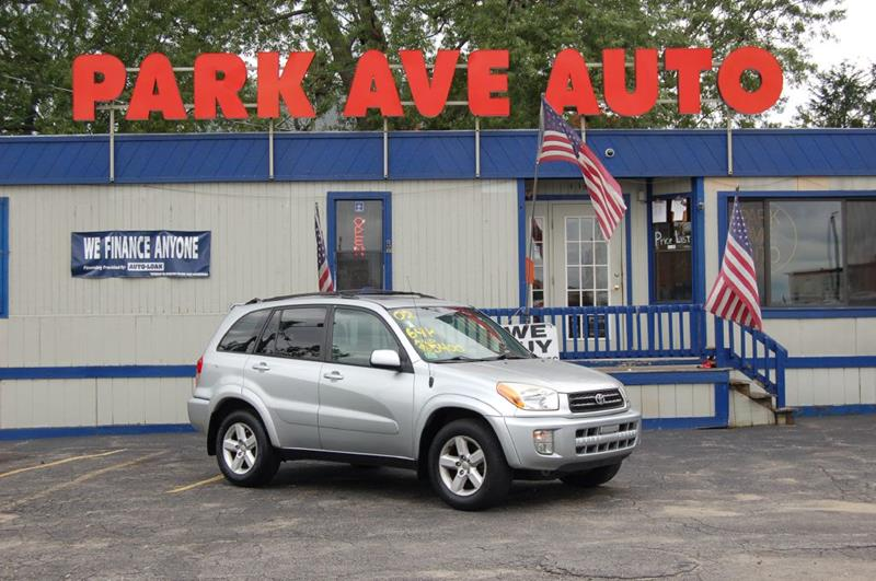 2002 Toyota RAV4 AWD 4dr SUV   Worcester MA
