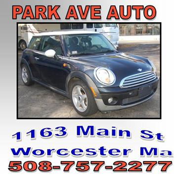 Park Ave Auto >> Mini Used Cars Pickup Trucks For Sale Worcester Park Ave Auto Inc