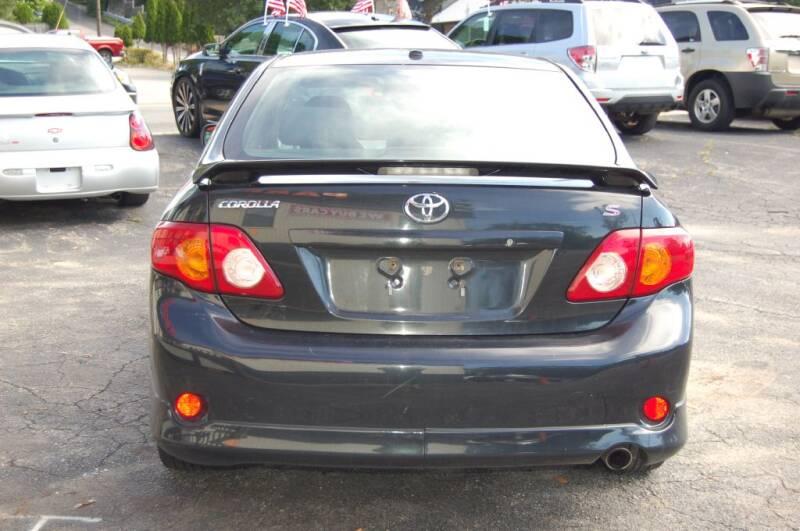 2009 Toyota Corolla S 4dr Sedan 4A - Worcester MA