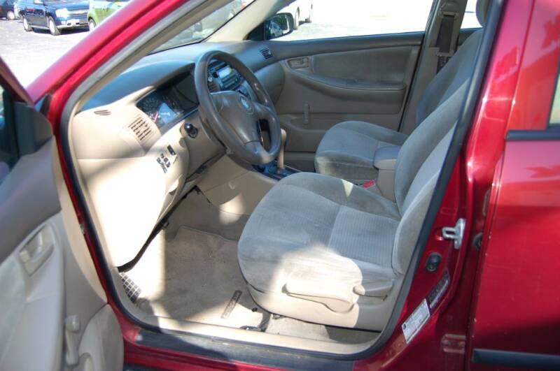 2005 Toyota Corolla CE 4dr Sedan - Worcester MA