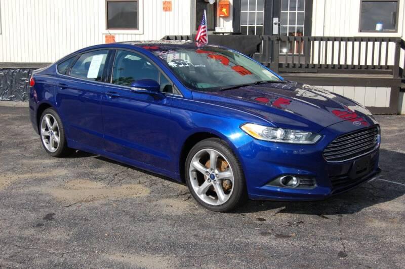 2015 Ford Fusion SE 4dr Sedan - Worcester MA