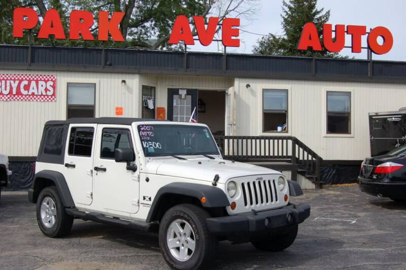 2007 Jeep Wrangler Unlimited 4x4 X 4dr SUV - Worcester MA