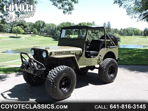 Military Jeep For Sale >> 1952 Jeep Willys For Sale In Greene Ia