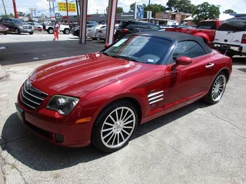 2006 Chrysler Crossfire for sale in Houston, TX