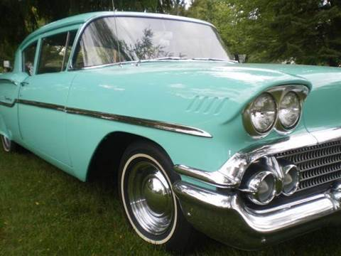 1958 Chevrolet Impala for sale at DTH FINANCE LLC in Toledo OH