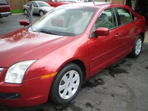 2007 Ford Fusion for sale at DTH FINANCE LLC in Toledo OH
