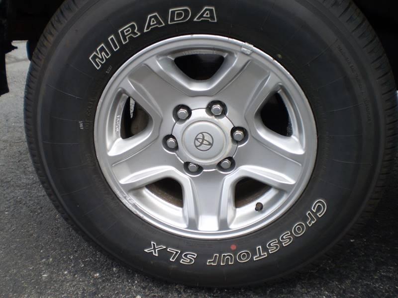 2002 Toyota 4Runner SR5 4WD 4dr SUV - Toledo OH