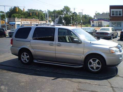 2006 Chevrolet Uplander for sale at Toledo Auto Finance Center in Toledo OH