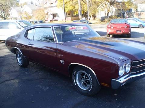 1970 Chevrolet Chevelle for sale at DTH FINANCE LLC in Toledo OH
