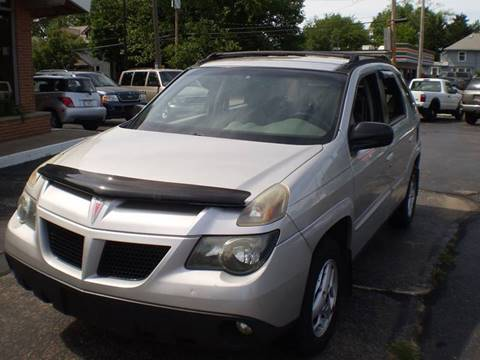 2005 Pontiac Aztek for sale in Toledo, OH