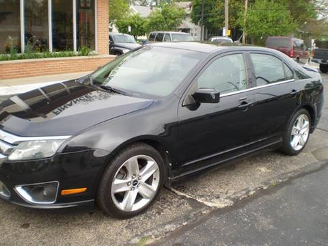 2010 Ford Fusion for sale at DTH FINANCE LLC in Toledo OH
