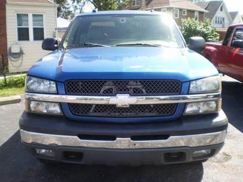 2004 Chevrolet Silverado 1500 for sale at DTH FINANCE LLC in Toledo OH
