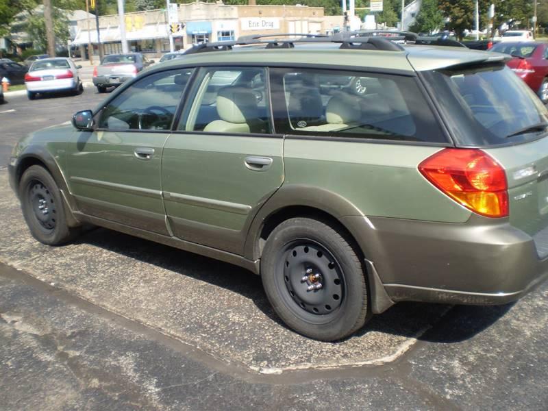 2006 Subaru Outback AWD 2 5i Limited 4dr Wagon (2 5L H4 4A