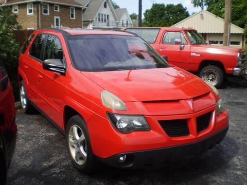 2003 Pontiac Aztek for sale in Toledo, OH