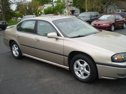 2003 Chevrolet Impala for sale at DTH FINANCE LLC in Toledo OH