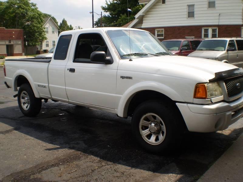 2002 Ford Ranger for sale at DTH FINANCE LLC in Toledo OH