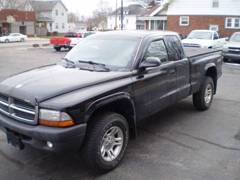 2004 Dodge Dakota for sale at DTH FINANCE LLC in Toledo OH