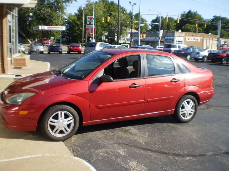 2003 Ford Focus SE Comfort 4dr Sedan w/Zetec - Toledo OH