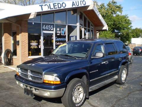 2001 Dodge Durango for sale at DTH FINANCE LLC in Toledo OH