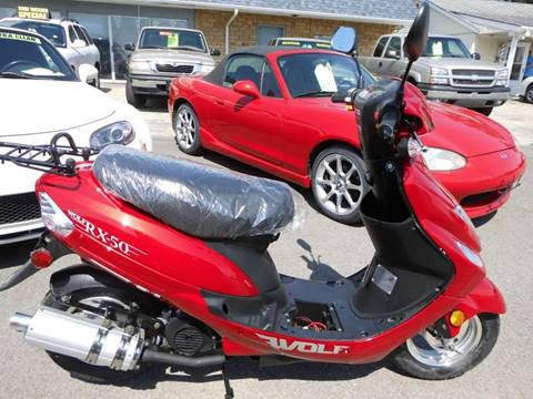2018 Wolf Brand Scooters RX for sale at Cycle M in Machesney Park IL