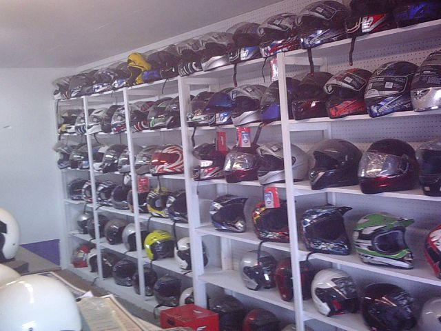 FULMER HELMETS / and GLOVES varied for sale at Cycle M in Machesney Park IL