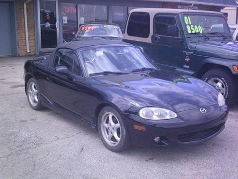 2002 Mazda MX-5 Miata for sale in Machesney Park, IL