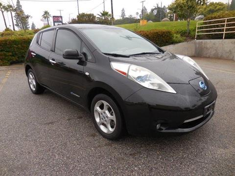 2011 Nissan LEAF for sale at ARAX AUTO SALES in Tujunga CA