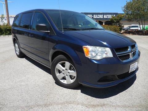2013 Dodge Grand Caravan for sale at ARAX AUTO SALES in Tujunga CA