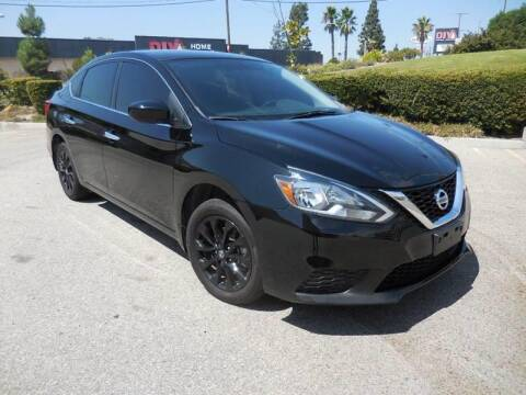 2018 Nissan Sentra for sale at ARAX AUTO SALES in Tujunga CA