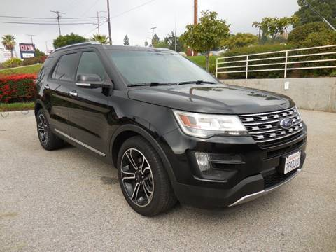 2016 Ford Explorer for sale at ARAX AUTO SALES in Tujunga CA