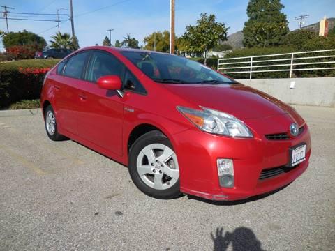 2011 Toyota Prius for sale at ARAX AUTO SALES in Tujunga CA