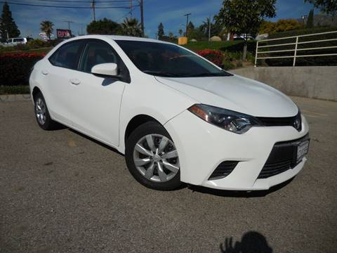 2014 Toyota Corolla for sale at ARAX AUTO SALES in Tujunga CA
