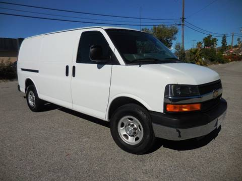 2016 Chevrolet Express Cargo for sale at ARAX AUTO SALES in Tujunga CA