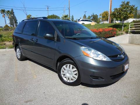 2010 Toyota Sienna for sale at ARAX AUTO SALES in Tujunga CA